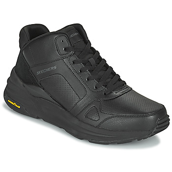 Shoes Men High top trainers Skechers GLOBAL JOGGER Black