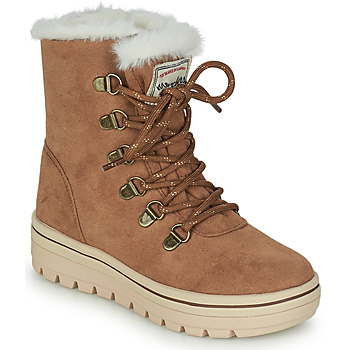 Shoes Girl Mid boots Skechers STREET CLEATS 2 Brown