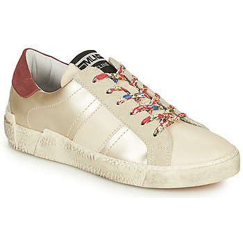 Shoes Women Low top trainers Meline NKC1381 White / Flowers