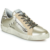 Shoes Women Low top trainers Meline NK139 Gold / Python