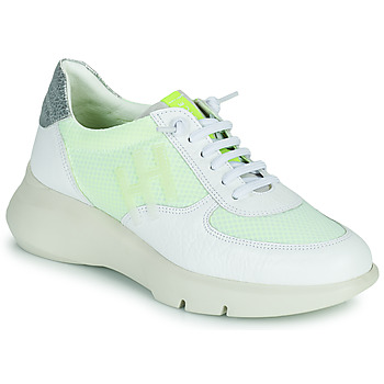 Shoes Women Low top trainers Hispanitas CUZCO White / Yellow