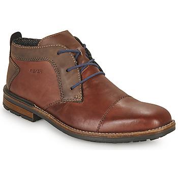 Shoes Men Derby shoes Rieker FALINDA Brown