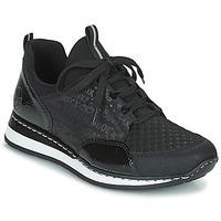 Shoes Women Low top trainers Rieker REGARDA Black