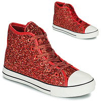 Shoes Girl High top trainers Citrouille et Compagnie OUTIL Red