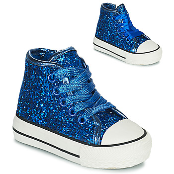 Shoes Girl High top trainers Citrouille et Compagnie OPIU Blue