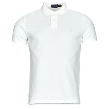 material Men short-sleeved polo shirts Polo Ralph Lauren PETRINA White