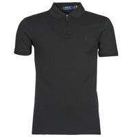 material Men short-sleeved polo shirts Polo Ralph Lauren BATTYNA Black