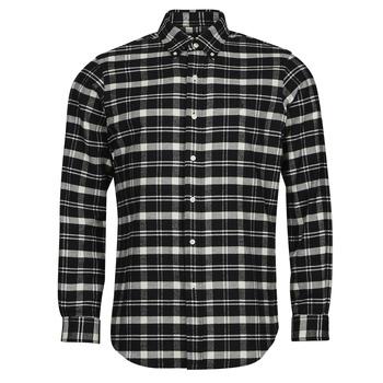 material Men long-sleeved shirts Polo Ralph Lauren PERINE Black