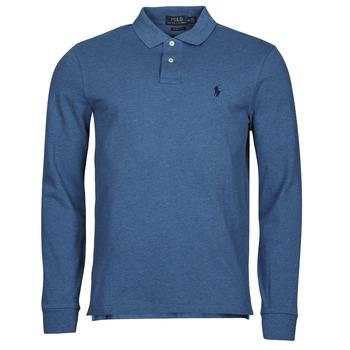material Men long-sleeved polo shirts Polo Ralph Lauren KETINA Blue / Royal
