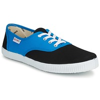 Shoes Low top trainers Victoria INGLESA BICOLOR Blue / Black