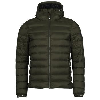 material Men Duffel coats Superdry CLASSIC FUJI PUFFER JACKET Black