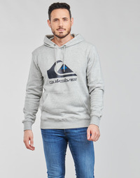 material Men sweaters Quiksilver BIG LOGO HOOD Grey