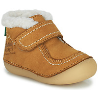 Shoes Girl Mid boots Kickers SOMOONS Camel
