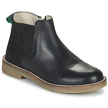 Shoes Girl Mid boots Kickers NY KICK Black