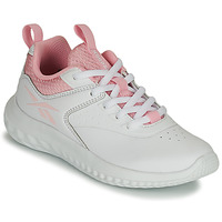 Shoes Girl Low top trainers Reebok Sport RUSH RUNNER White / Pink