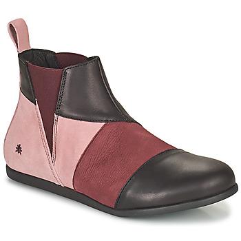 Shoes Women Mid boots Art LARISSA Violet / Black