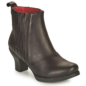 Shoes Women Ankle boots Art HARLEM Black