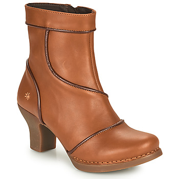 Shoes Women Ankle boots Art HARLEM Brown