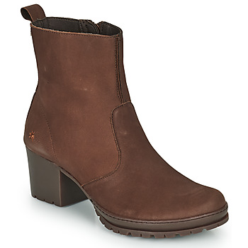 Shoes Women Ankle boots Art CAMDEN Brown