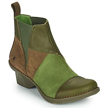 Shoes Women Ankle boots Art OTEIZA Kaki