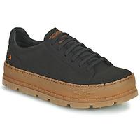 Shoes Men Low top trainers Art BLUE PLANET Black