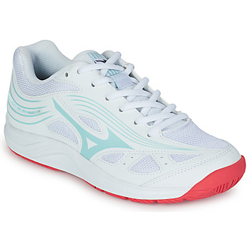 Shoes Women Indoor sports trainers Mizuno CYCLONE SPEED White / Blue