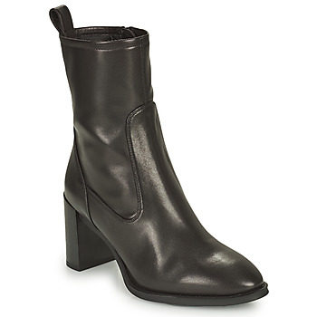 Shoes Women Ankle boots Unisa UNTIL Black