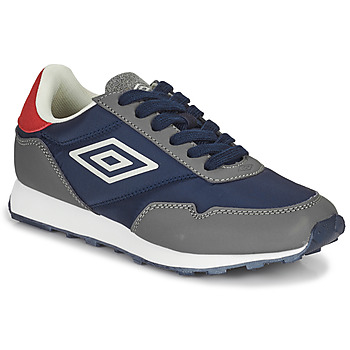 Shoes Children Low top trainers Umbro KARTS LACE Grey / Blue