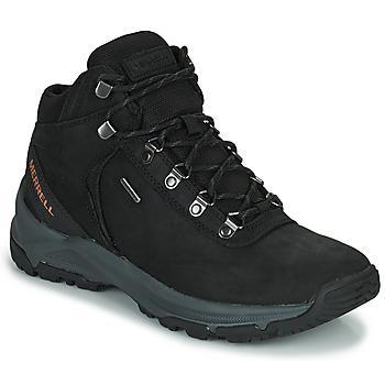 Shoes Men Hiking shoes Merrell ERIE MID LTR WP Black
