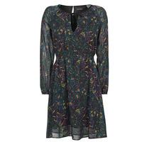 material Women Short Dresses Chattawak RUIZ Marine / Multicolour