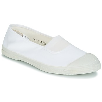 Shoes Women Low top trainers Bensimon TENNIS ELASTIQUE White