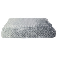 Home Blankets, throws The home deco factory NIDO Grey