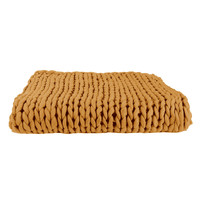 Home Blankets, throws The home deco factory CHUNKY Yellow