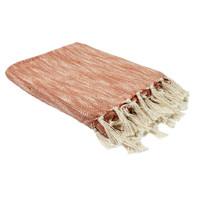 Home Blankets, throws The home deco factory ELENA Bicolor / White-orange