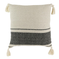 Home Cushions The home deco factory MIRAGE Beige / Black / Beige
