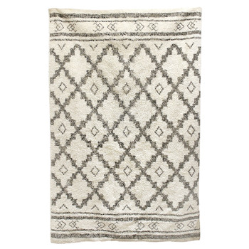 Home Carpets The home deco factory MIRAGE White / Beige