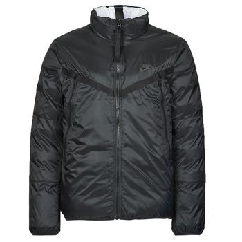 material Men Duffel coats Nike M NSW TF RPL REVIVAL REV JKT Black / Grey
