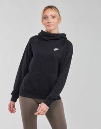 material Women sweaters Nike NIKE SPORTSWEAR ESSENTIAL Black / White