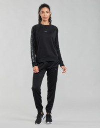 material Women Tracksuit bottoms Nike W NSW PK TAPE REG PANT Black