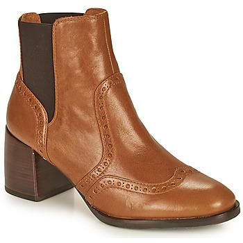 Shoes Women Ankle boots Chie Mihara OGUN Cognac