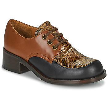 Shoes Women Loafers Chie Mihara TUDU Brown / Black