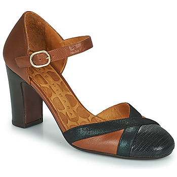Shoes Women Court shoes Chie Mihara WABE Camel / Black