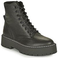 Shoes Women Mid boots Steve Madden SKYLAR Black