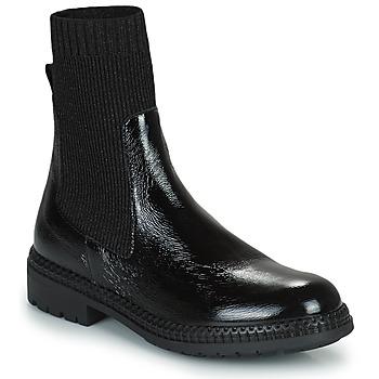 Shoes Women Mid boots Regard CALES Black