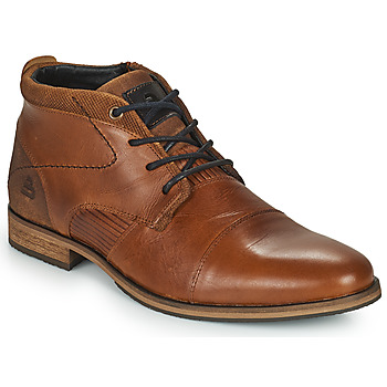 Shoes Men Mid boots Bullboxer JEAN Brown