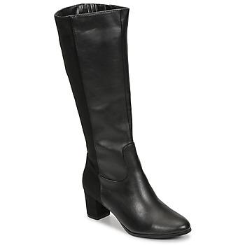 Shoes Women Boots Spot on F50366 Black