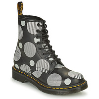 Shoes Women Mid boots Dr Martens 1460 White / Grey