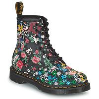 Shoes Women Mid boots Dr Martens 1460 PASCAL Black / Multicolour