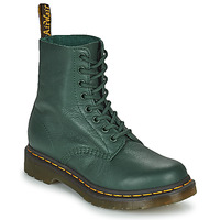 Shoes Women Mid boots Dr Martens 1460 PASCAL Green