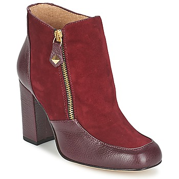 Shoes Women Ankle boots Fericelli CHANTEVO BORDEAUX